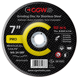 Grinding Discs for Stainless Steel